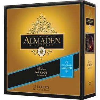 Almaden Merlot Box 5L