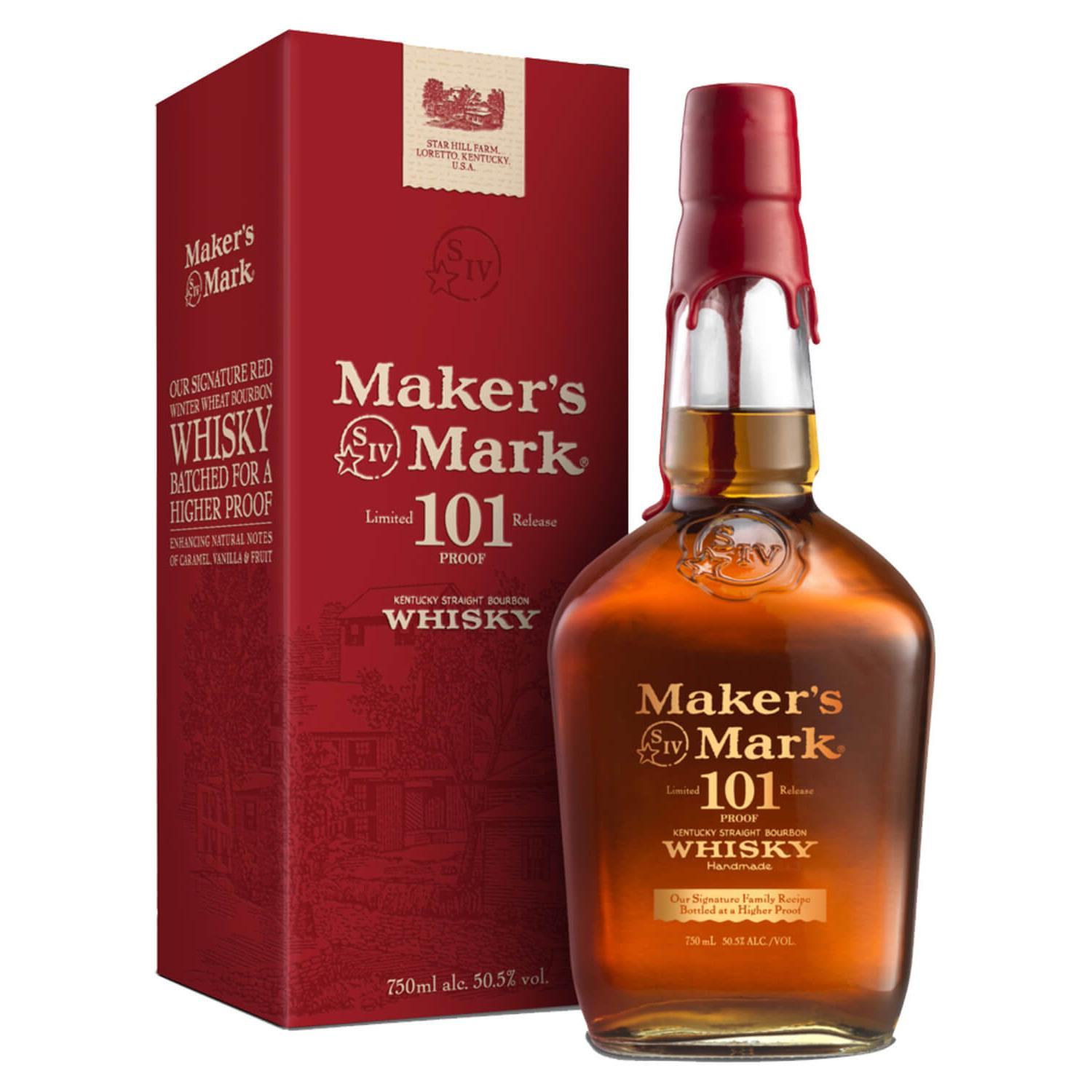 Makers Mark Bourbon 101 Limited Release 750ml