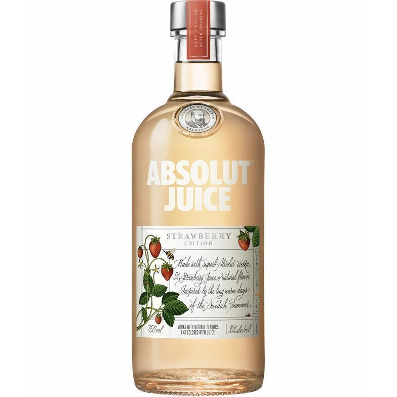Absolut Vodka Juice Strawberry