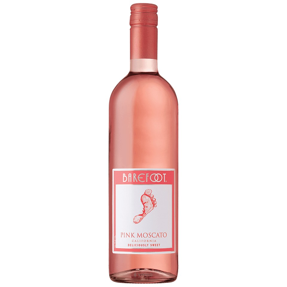 Barefoot Pink Mosc 750ml