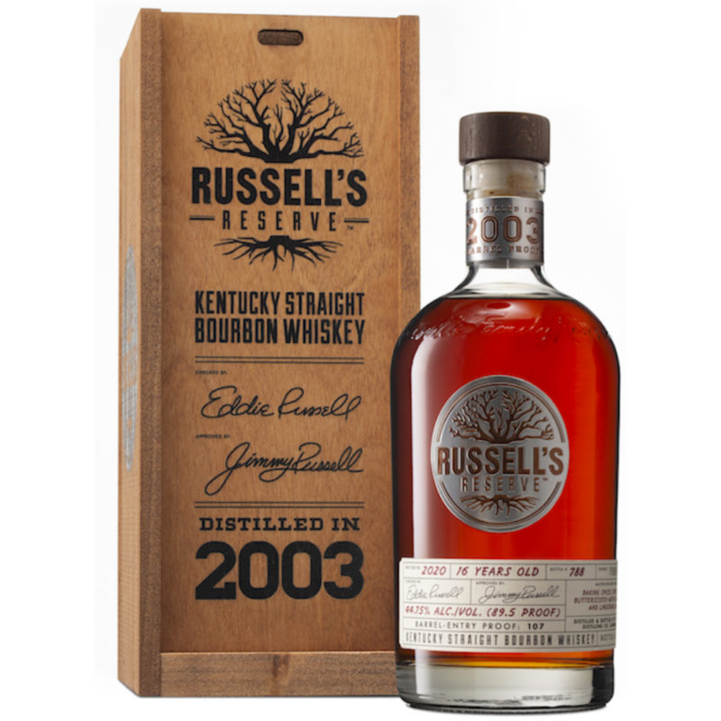 Russells Reserve Bourbon 2003 16Yr 89.5