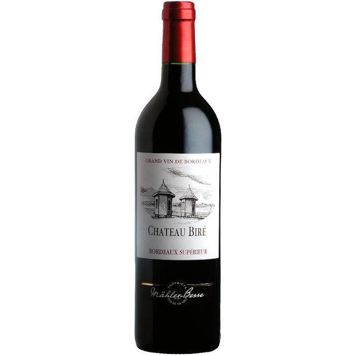 Chateau Bire Red Bordeaux Superieur 750ml