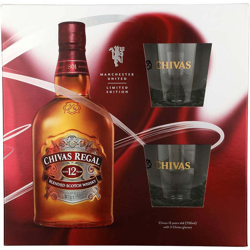 Chivas Regal 12Yr w/2 Glasses