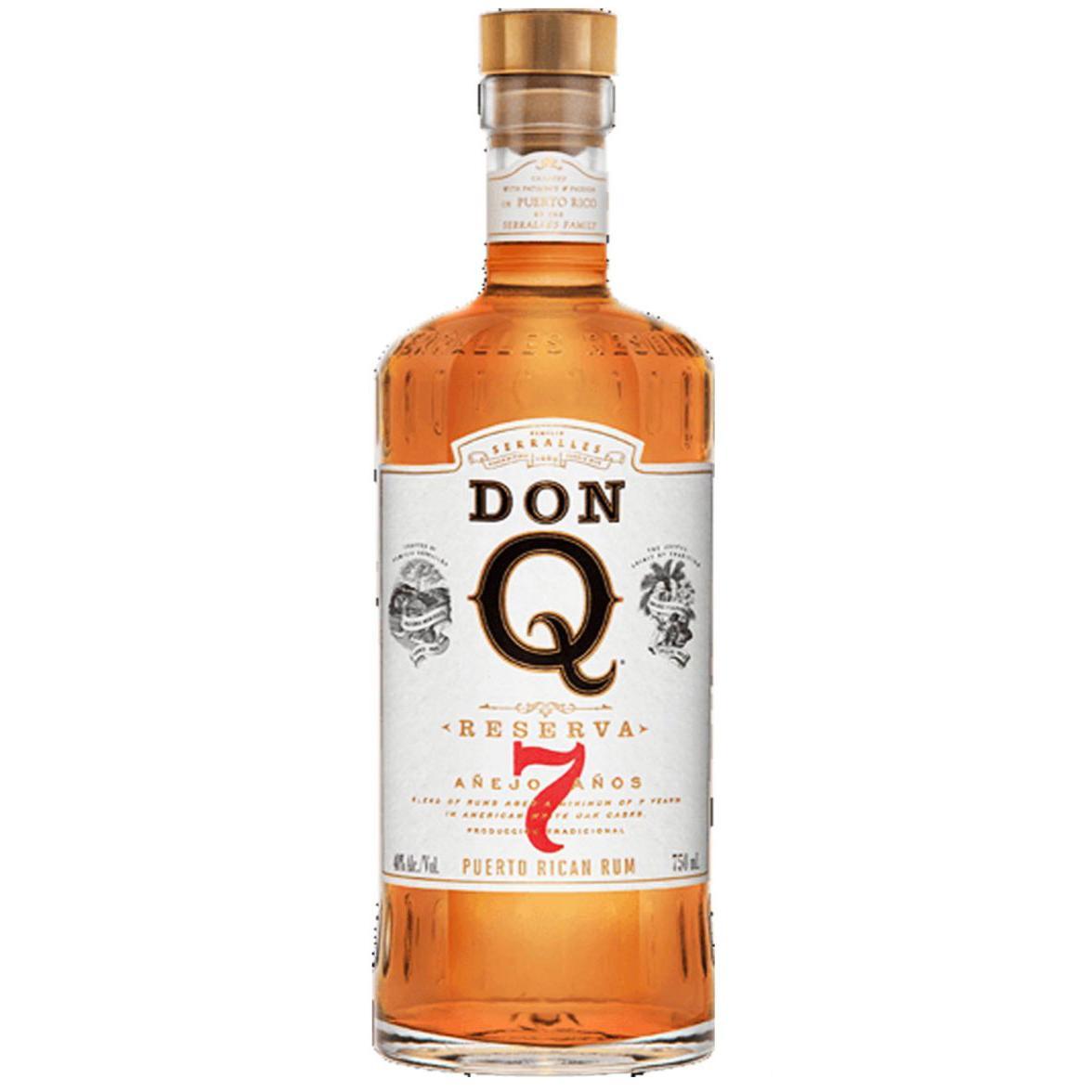 Don Q Reserva 7Yrs Anejo 1L