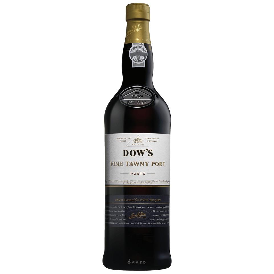Dows Fine Tawny Port 20Yr 750ml