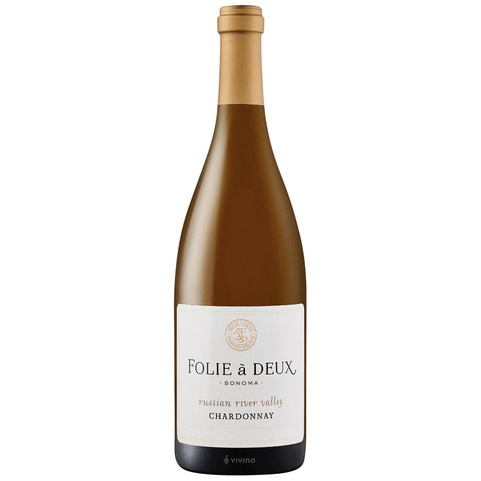 Folie A Deux Chardonnay Sonoma Rrv 750ml
