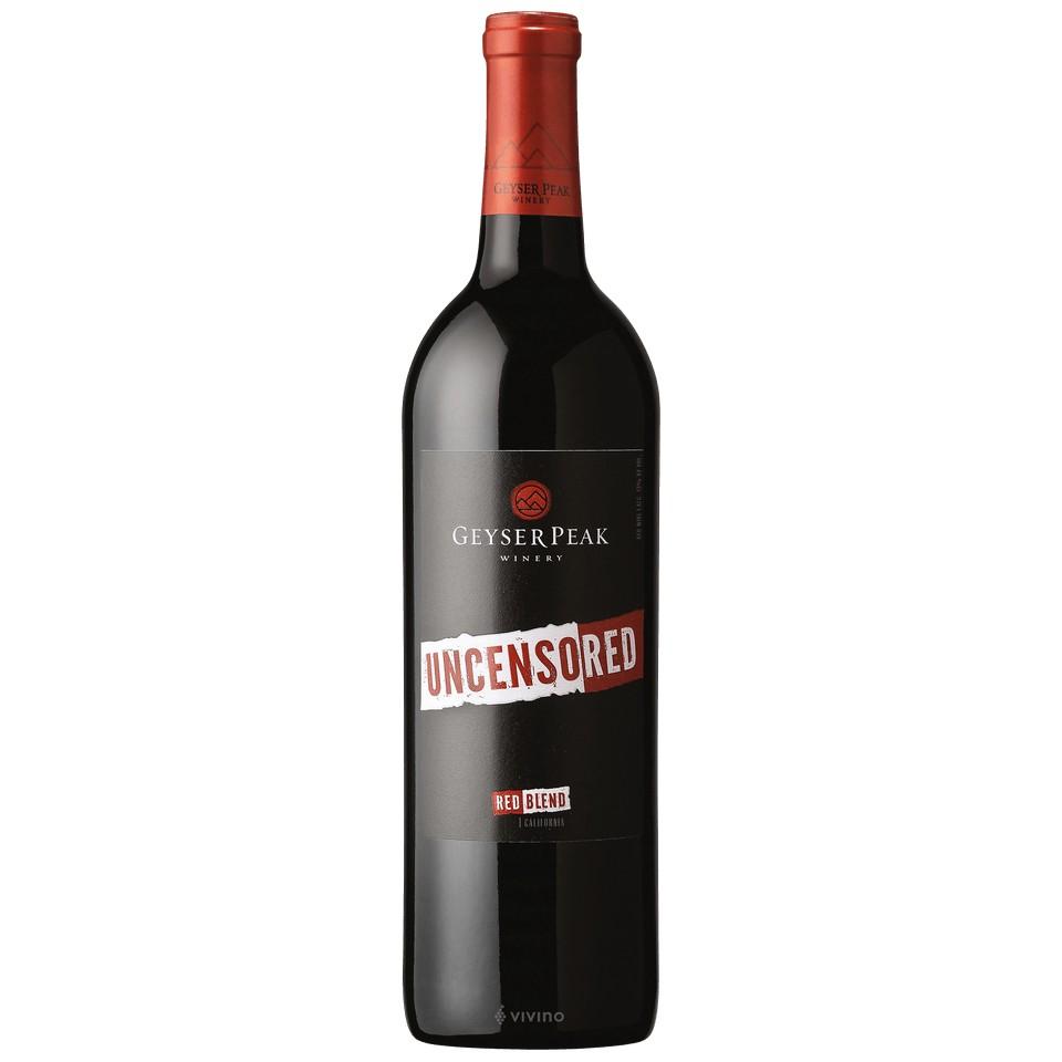 Geyser Peak Red Uncensored 750ml
