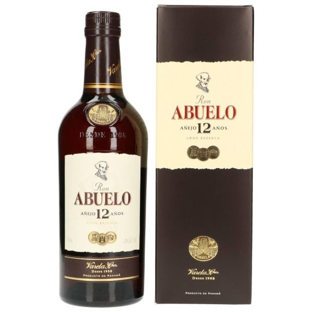 Ron Abuelo Rum 12Yrs Gift Set