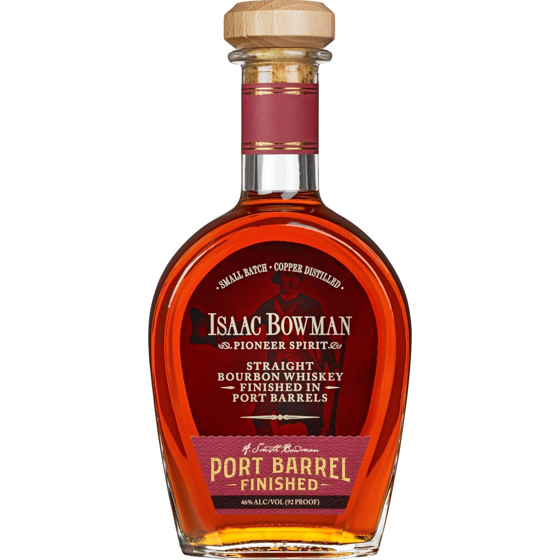 Isaac Bowman Port Barrel Bourbon Whiskey
