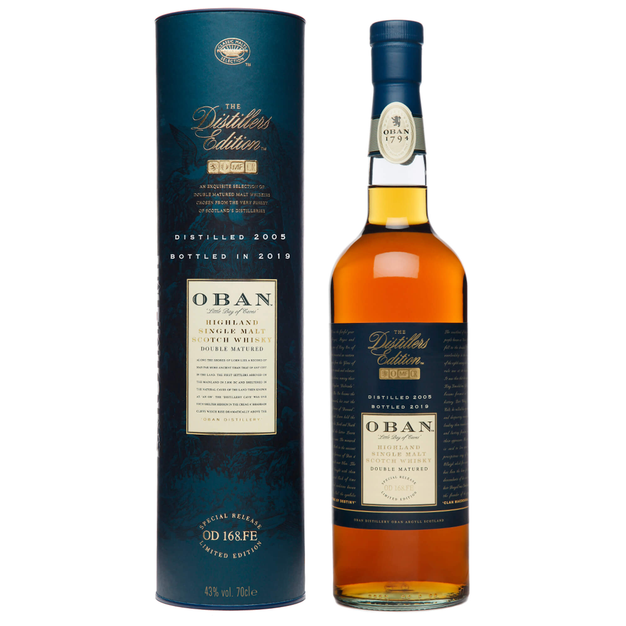 Oban Sco Smalt Distilled 2005