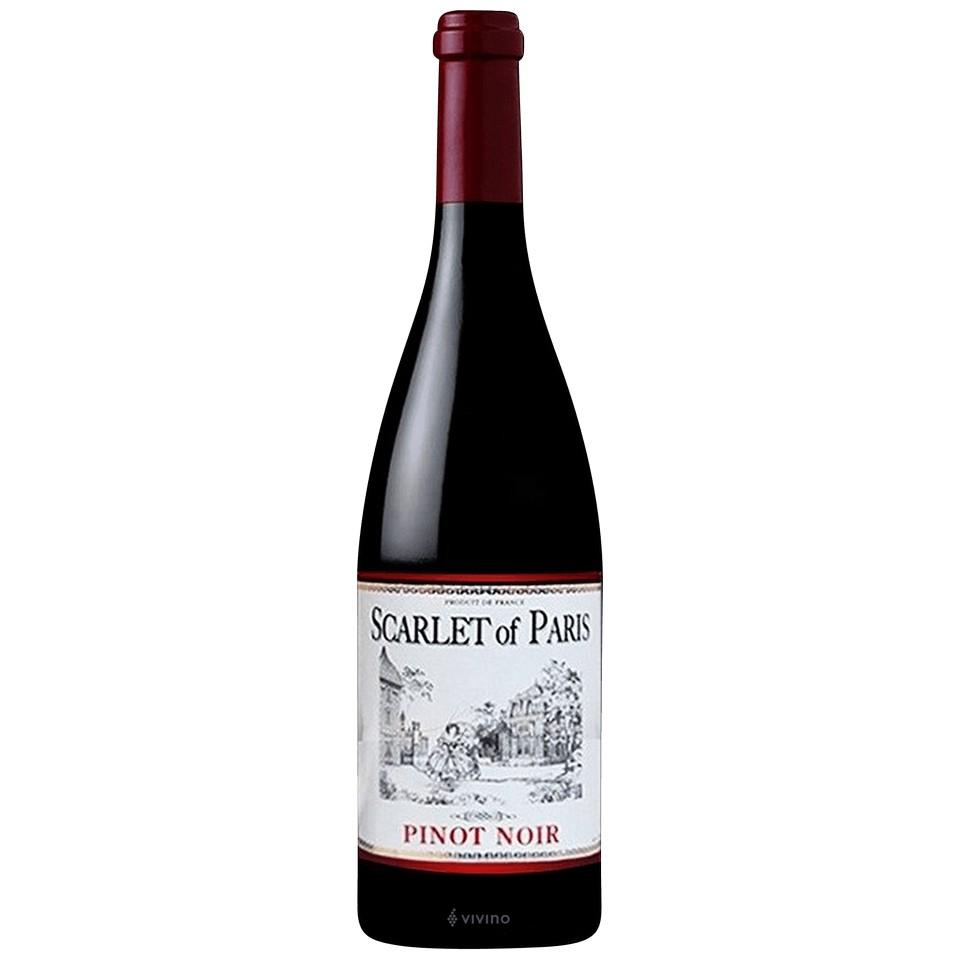 Scarlet Of Paris Pinot Noir 750ml