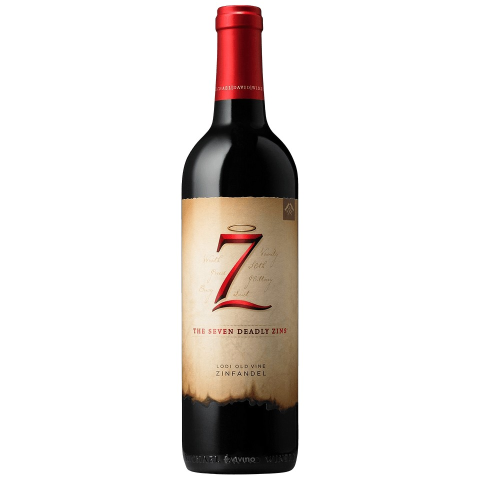 The Seven Deadly Zins 750ml