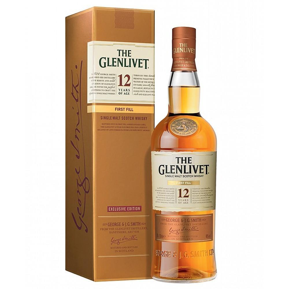The Glenlivet 12Yr First Fill 750ml