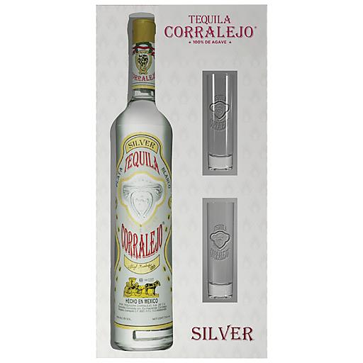 Corralejo Tequila Silver Gift 750ml