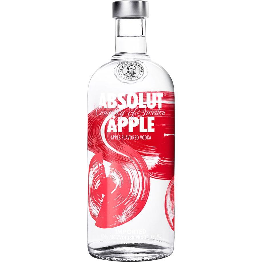 Absolut Vodka Juice Apple 1L
