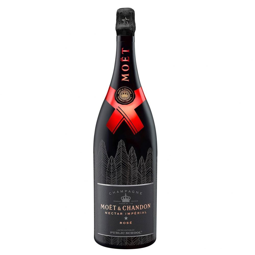Moet & Chandon Nectar Imperial Rose By PSNYr 750ml