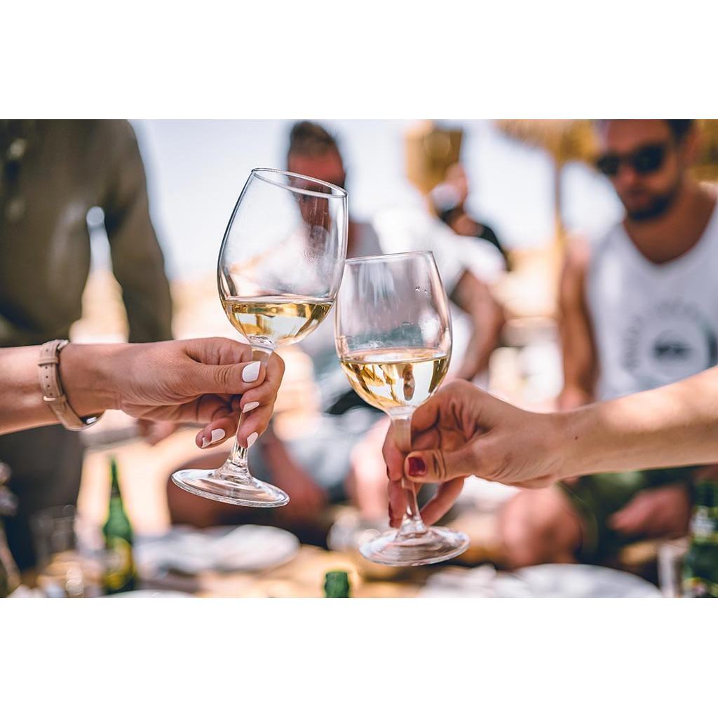 Chardonnay Drinking People