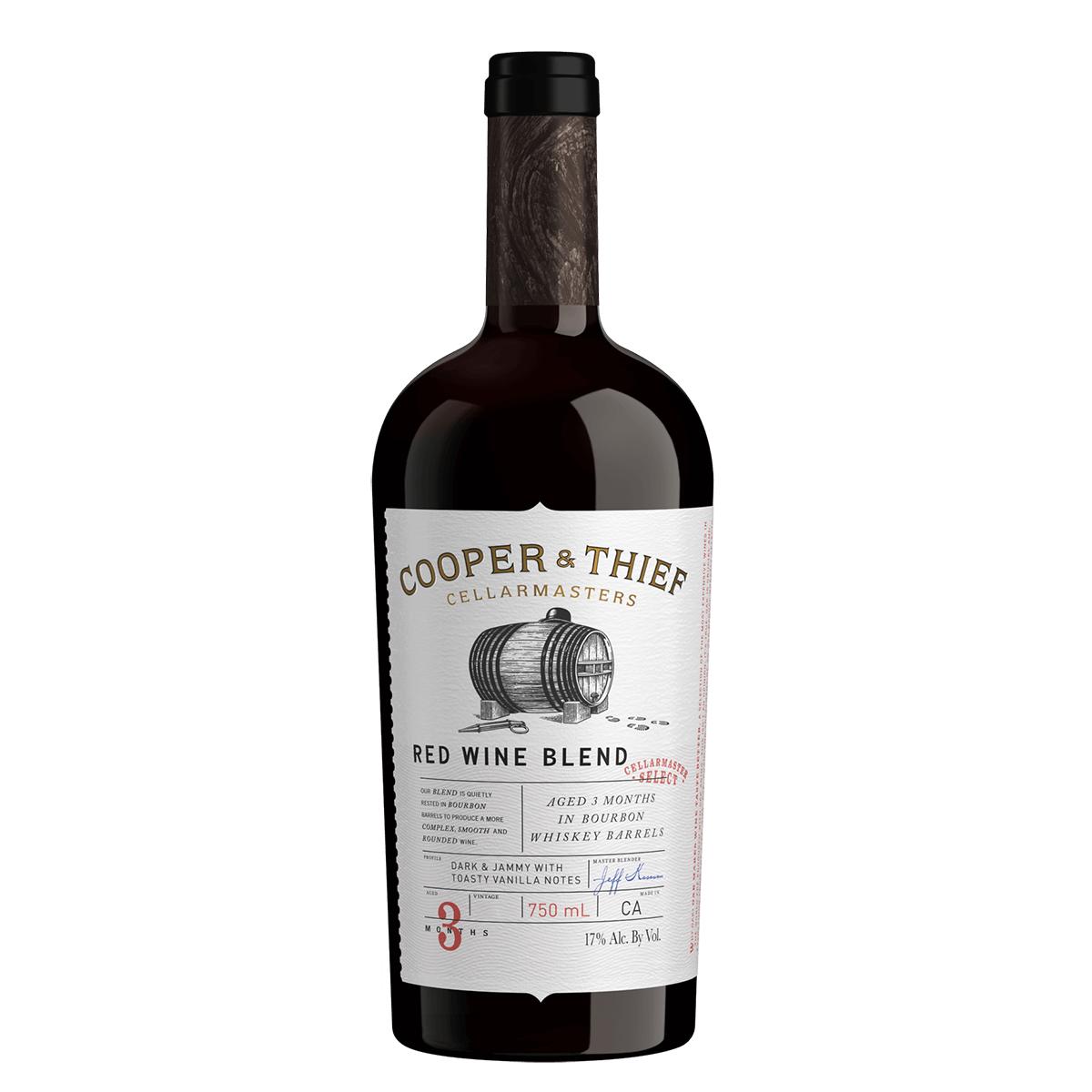 Cooper & Thief Red Bourbon Brl Aged 750ml