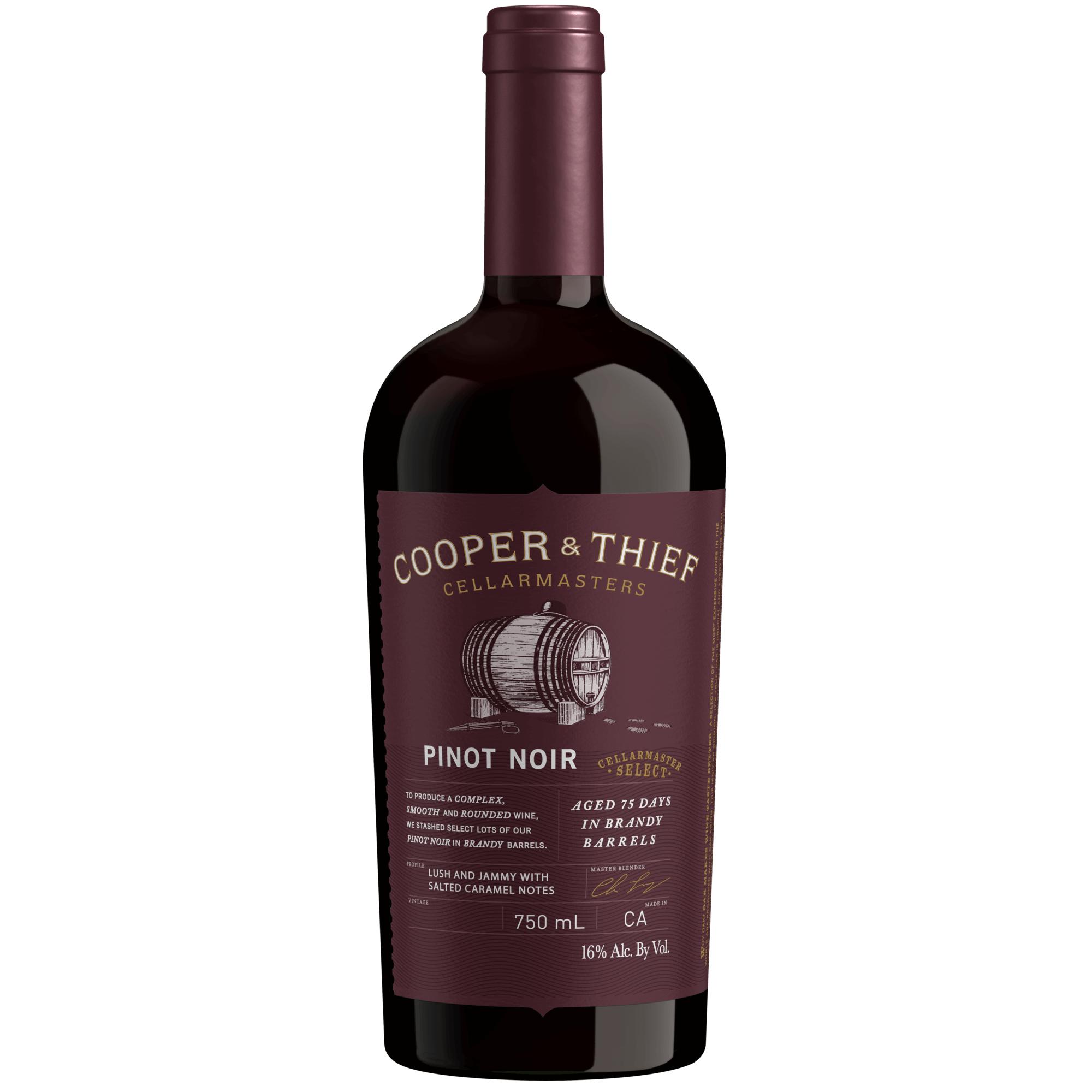 Cooper & Thief Pinot Noir Bourbon Brl750ml