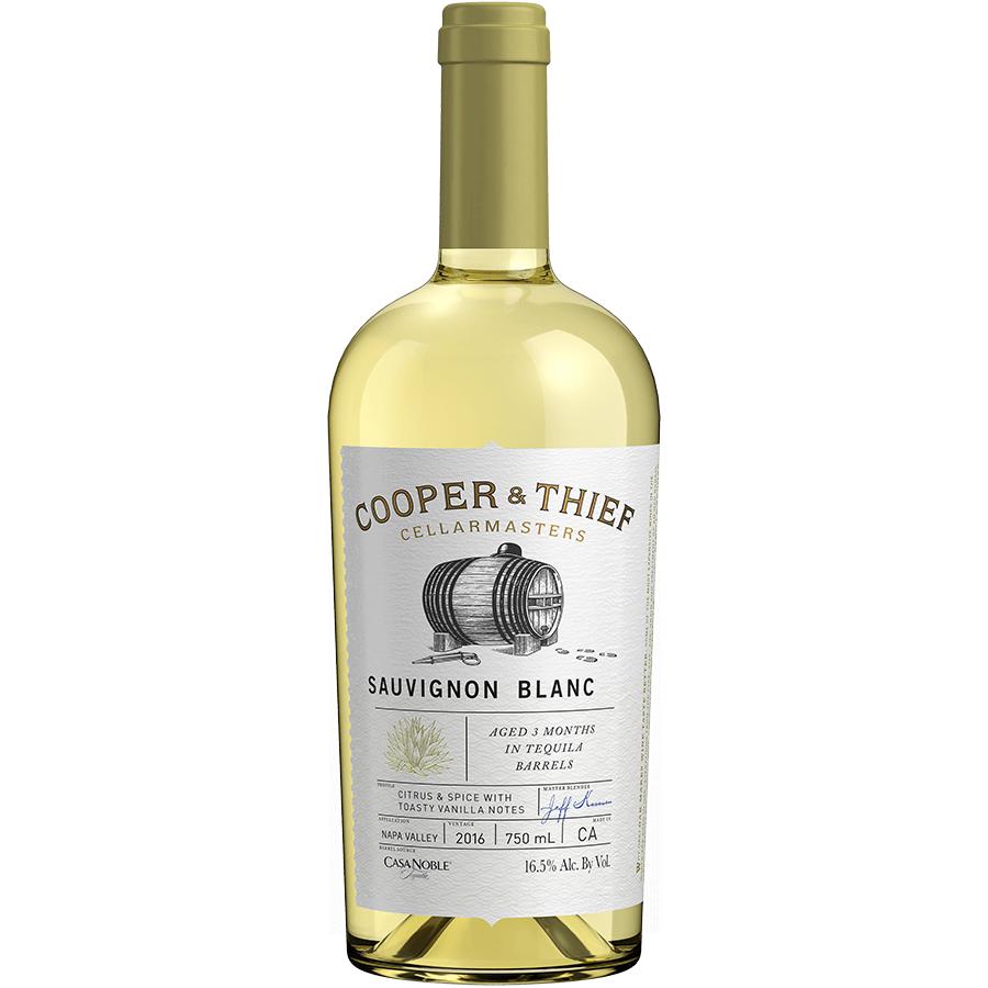 Cooper & Thief Sauvignon Blanc Bourbon Brl750ml