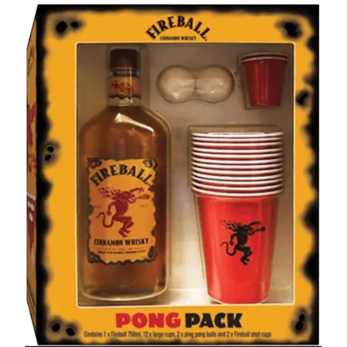 Fireball Whisky Pong Pack Set