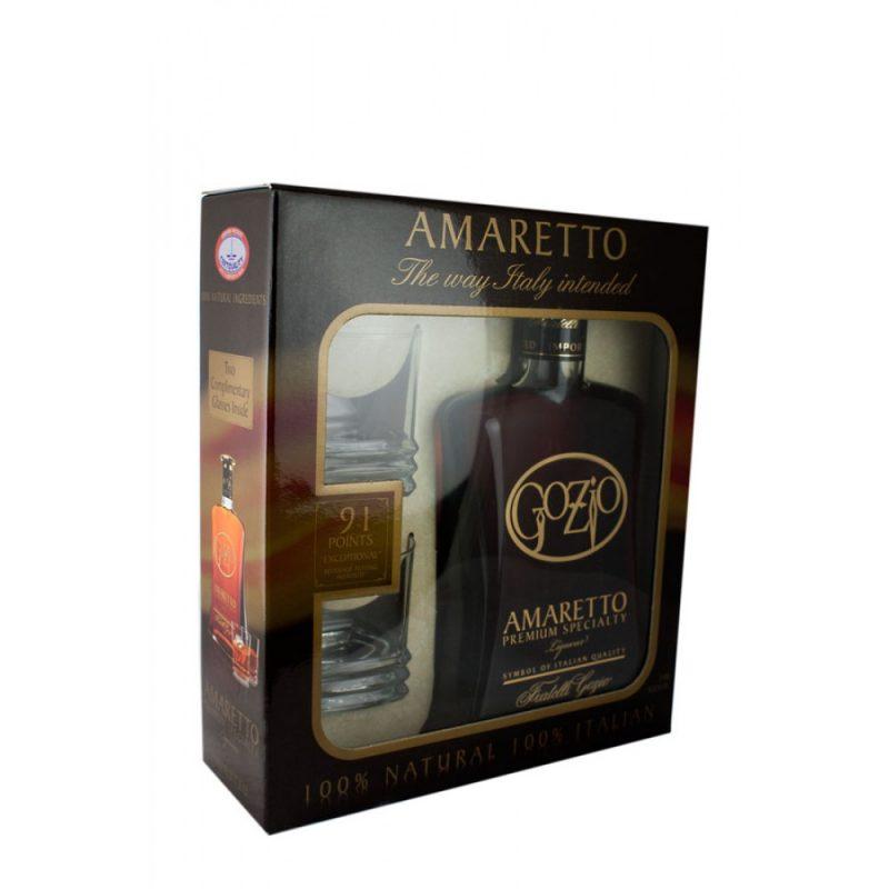Gozio Amaretto Gift 750ml