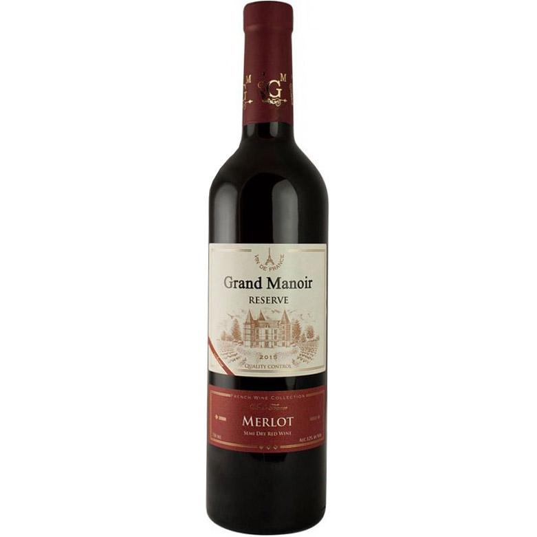 Grand Manoir Merlot Res. 750ml