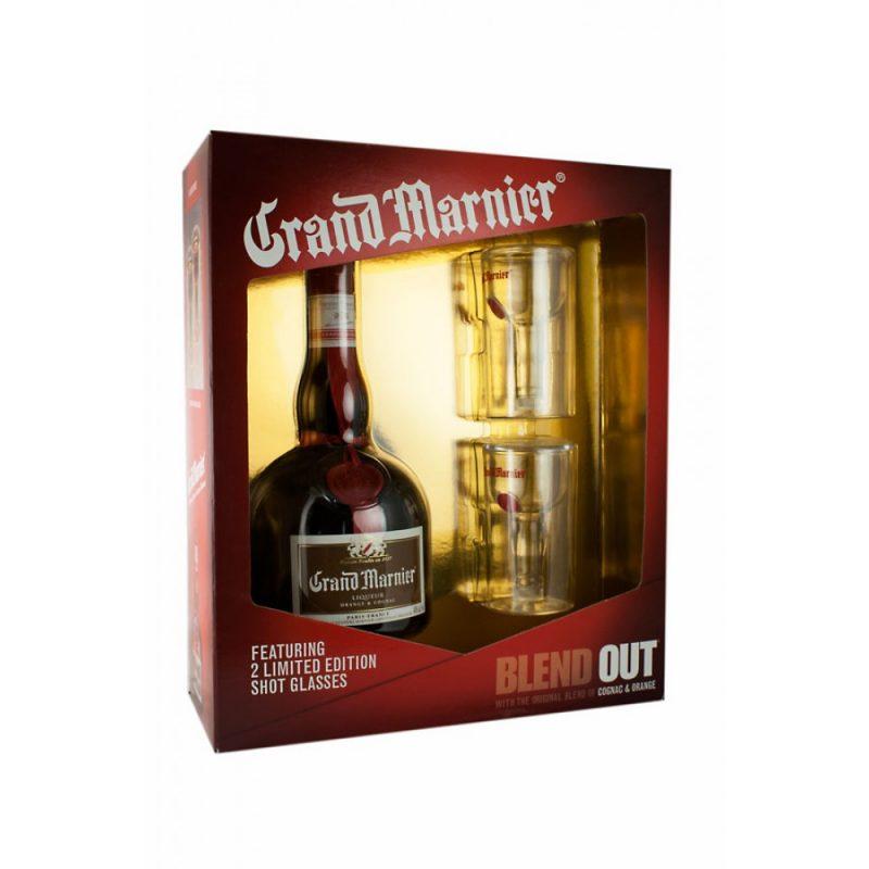 Grand Marnier Gift Set 750ml