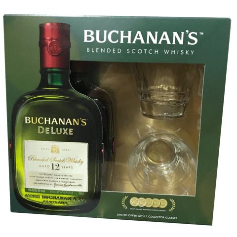 Buchanan's 12Yr Gift Set 750ml