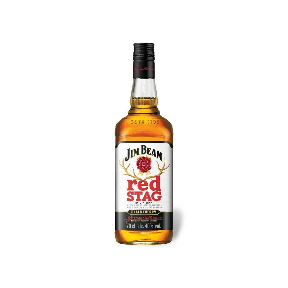Jim Beam Red Stag Bc 1L
