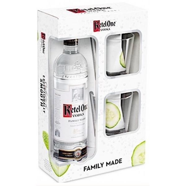 Ketel One Vodka Gift Set 750ml