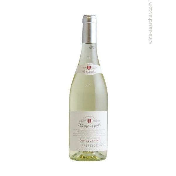 Les Vignerons Cotes Du Rhone White 1.5L