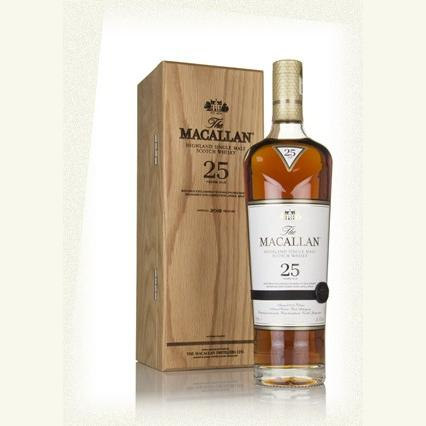 Macallan 25Yr Malt Sherry Oak