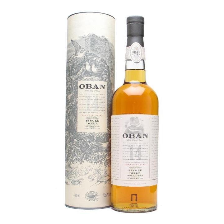 Oban Sngl Malt Scotch 750ml