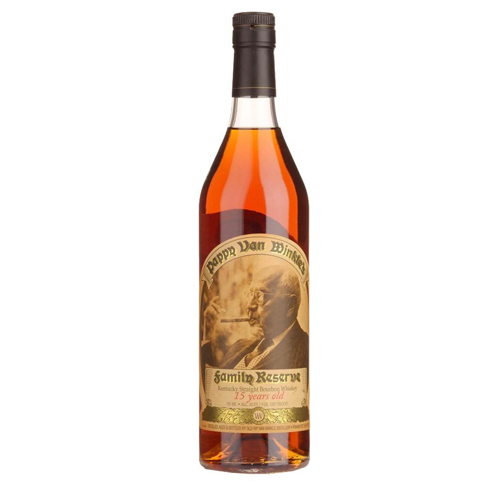 Pappy Van Winkle's Family Reserve 15yr Bourbon Whiskey 750ml