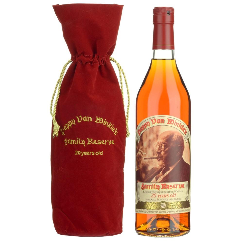Pappy Van Winkle's Family Reserve 20yr Bourbon Whiskey 750ml