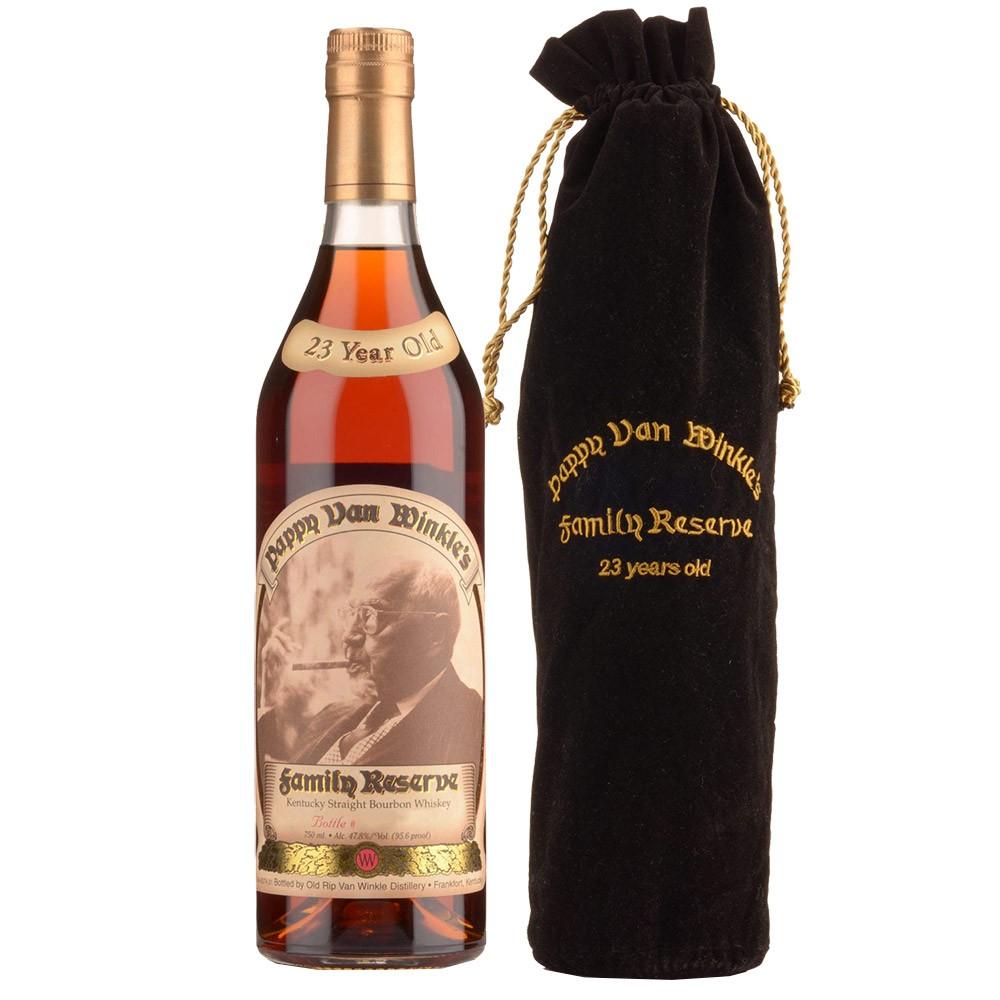 Pappy Van Winkle's Family Reserve 23yr Bourbon Whiskey 750ml