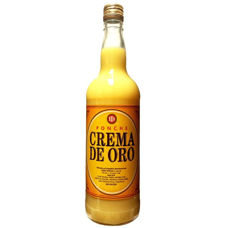 Ponche Crema De Oro 750ml