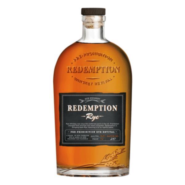Redemption Sh Rye 9Yr 750ml