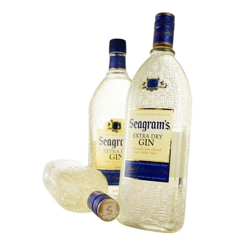 Seagrams X Dry Gin 1.75L