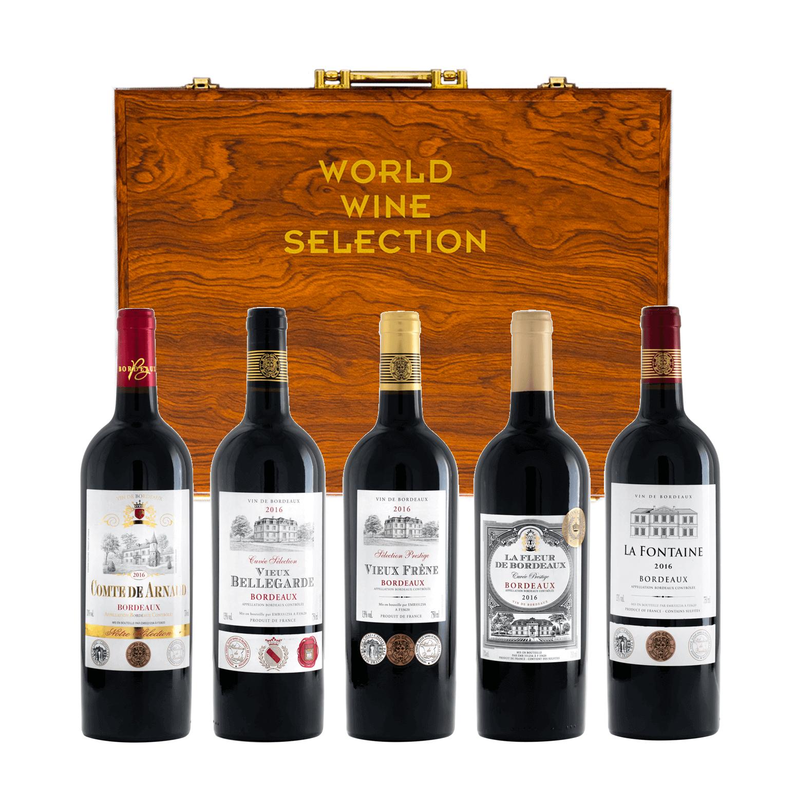 World Wine Select Bordeaux Gift 750ml